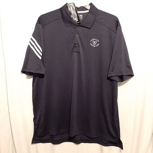 Adidas ClimaCool Related Fit Golf Shirt Navy